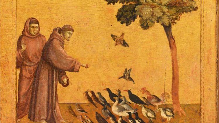 Giotto Saint François d'Assise recevant les stigmates